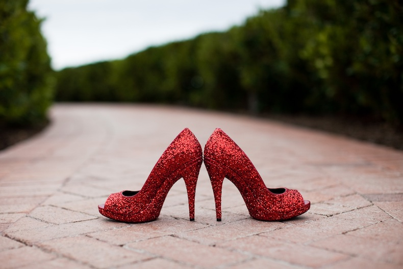 Collection Red Wedding Shoes For Bride Pictures - Weddings Pro