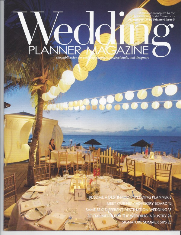 how to get featured in a wedding magazine
