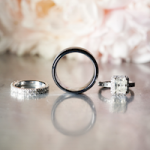 Black and Gold Elegant Real Wedding