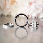 Black and Gold Elegant Real Wedding