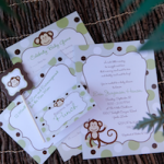 Baby Shower Featured: Monkeying Around