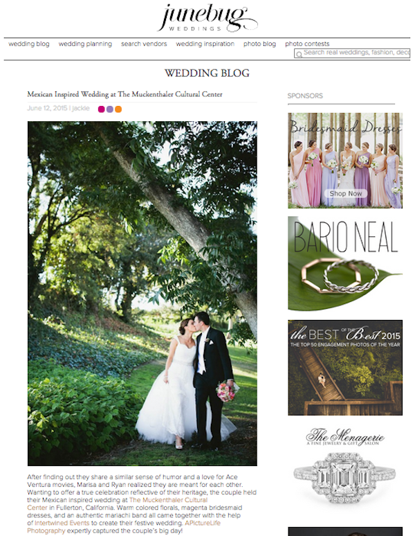 Intertwined Events_Muckenthaler Mansion Wedding Featured In Junebug Weddings