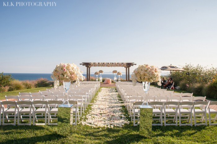 Intertwined Events An Event Blush Wedding At Terranea Resort