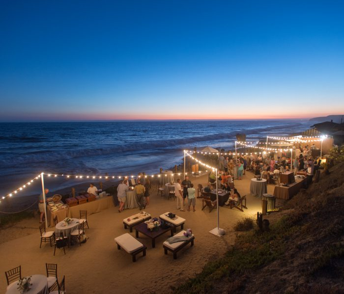 AN INTERTWINED EVENT: SEASIDE GETAWAY WELCOME RECEPTION AT THE BEACHCOMBER