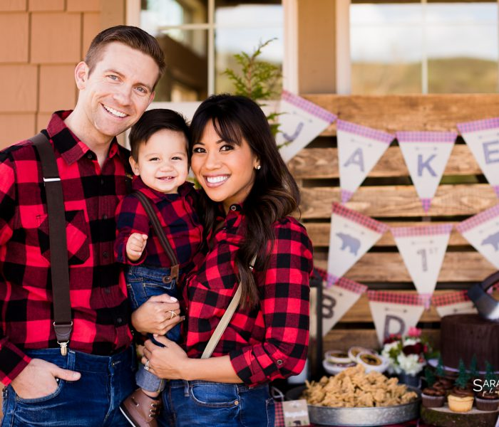 AN INTERTWINED EVENT: A LITTLE LUMBERJACK'S FIRST BIRTHDAY