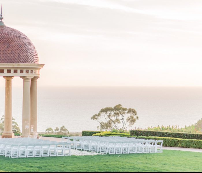 AN INTERTWINED EVENT: A Pelican Hill Wedding So Bright and Light!