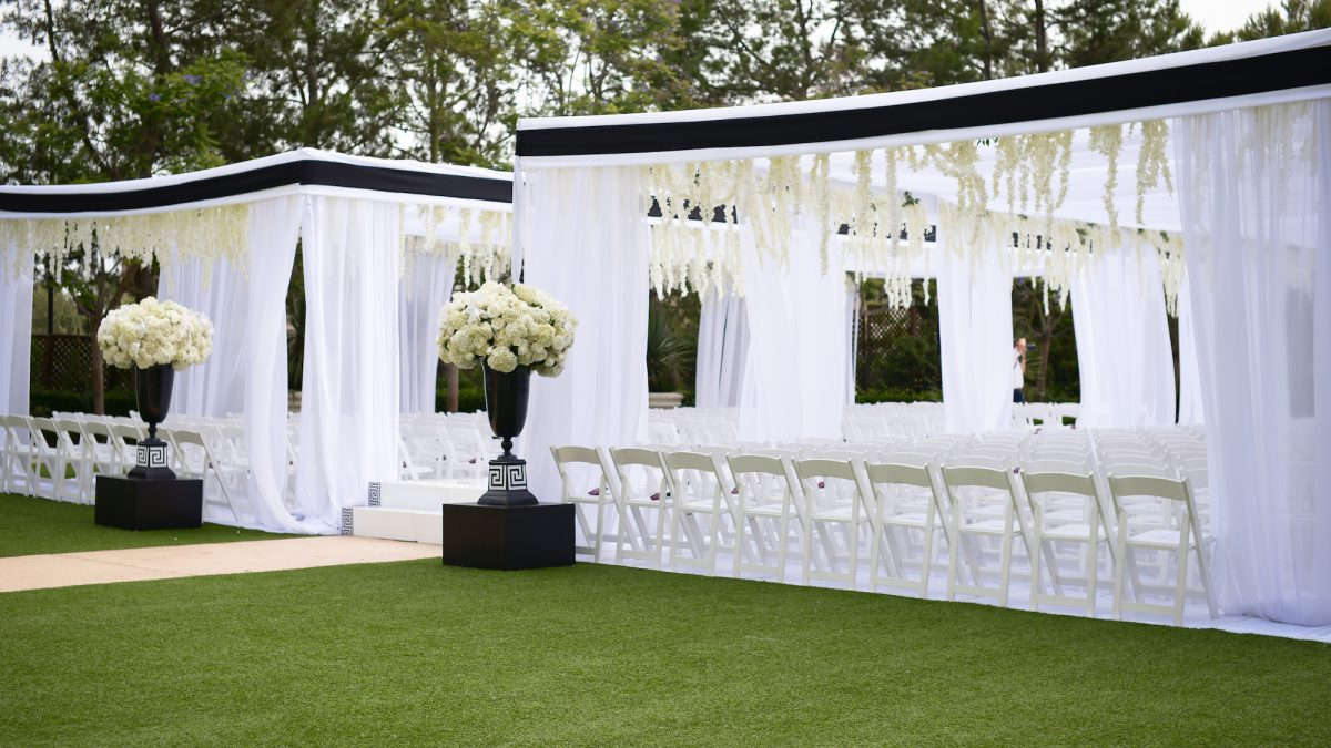 AN INTERTWINED EVENT: CREATIVE BLACK AND WHITE INDIAN WEDDING AT ...