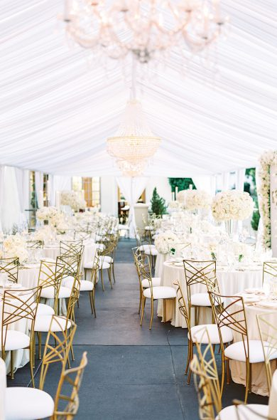 An Intertwined Event: Luxe All White Wedding at Marbella Country Club
