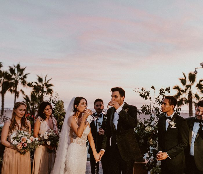 AN INTERTWINED EVENT: AN UNFORGETTABLE WEDDING AT CASA DEL MAR