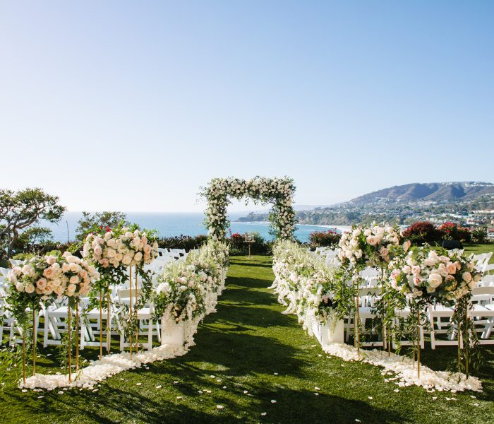 AN INTERTWINED EVENT: SWEET SEASIDE CEREMONY AT THE RITZ CARLTON LAGUNA NIGUEL