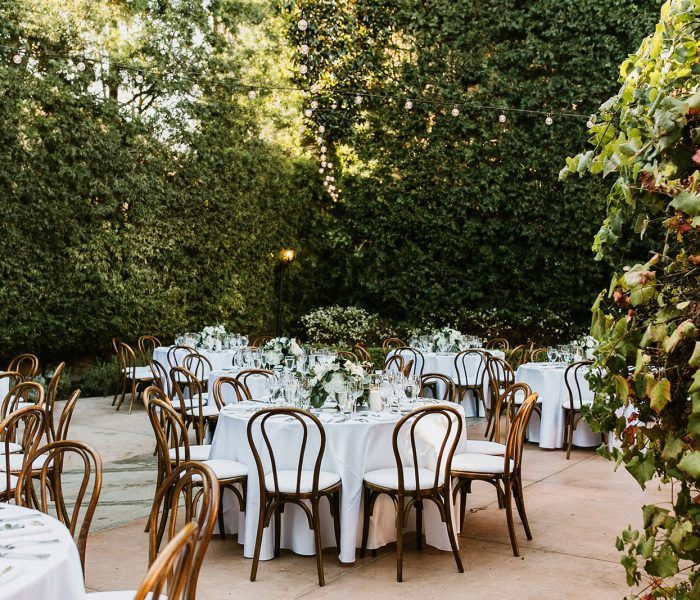 AN INTERTWINED EVENT: ALL WHITE WEDDING AFFAIR AT FRANCISCAN GARDENS