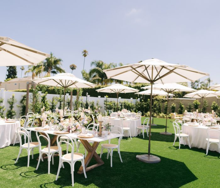 AN INTERTWINED EVENT: BRIDE-TO-BE, KATIE'S GARDEN PARTY BRIDAL SHOWER AT BALBOA BAY RESORT