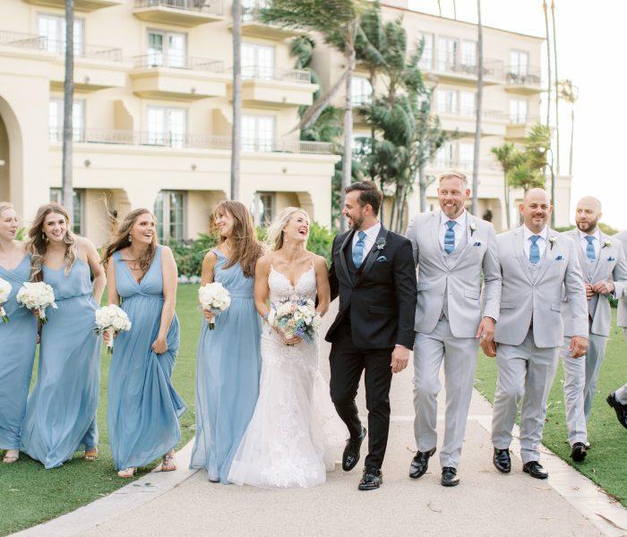 AN INTERTWINED EVENT: Coastal Chic Indoor Wedding at Ritz-Carlton Laguna Niguel