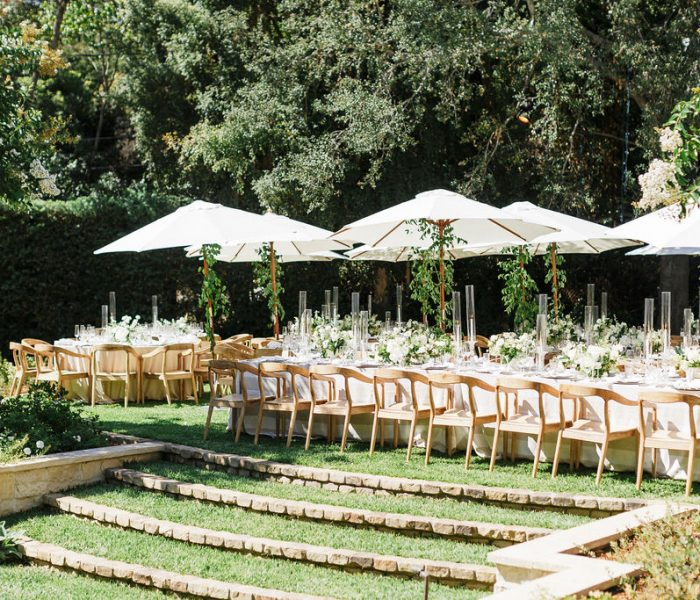 AN INTERTWINED EVENT: INCREDIBLY CHIC BACKYARD WEDDING IN LOS ANGELES